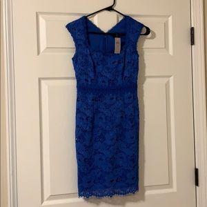 NWT blue Ann Taylor dress
